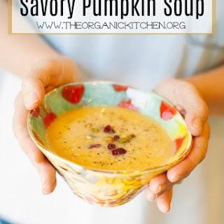 Savory Pumpkin Soup.