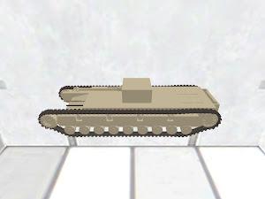 Churchill V Heavy Tank
