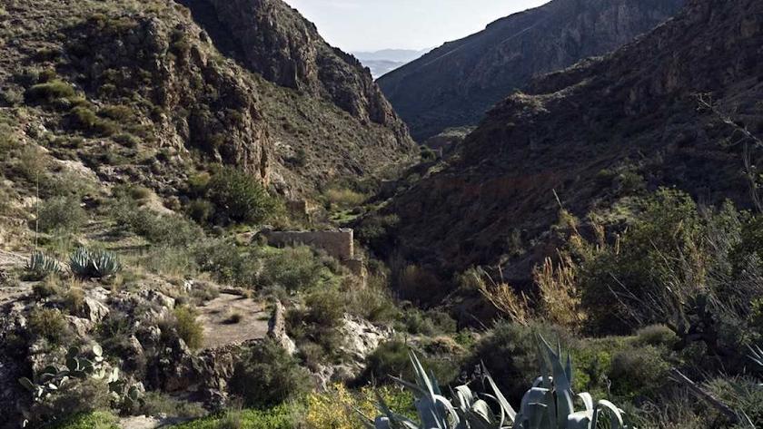 Vista del valle de Huebro