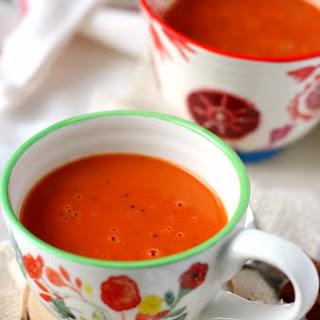 Creamy Dairy Free Tomato Soup.