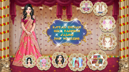 Royal Indian Girl Fashion Salon For Wedding 1.0 screenshots 1