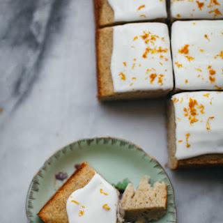 Rosemary Whole Wheat Snack Cake