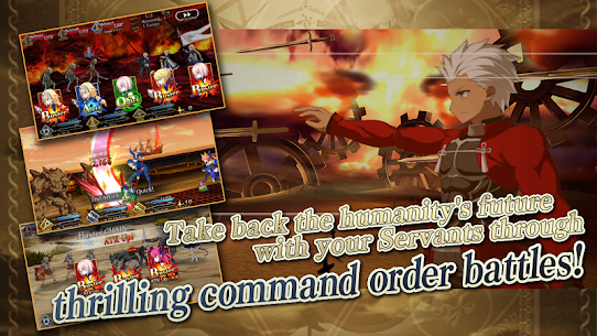Fate/Grand Order MOD APK [Instant Win/Damage] 3