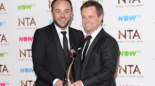 Ant and Dec crowned celeb pair with best friendship