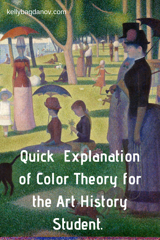 Explanation of the basics of color theory for students and educators #kellybagdanov #homeschool #homeschooling #arthistory #arthistoryresource #charlottemasonresource #classicalconversationresource #sonlightresource #storyoftheworldresource #aparthistory #arthistoryeducators