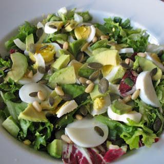 Crunchy Egg Salad With Avocado