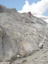 Photo: Scrambling Little Annapurna