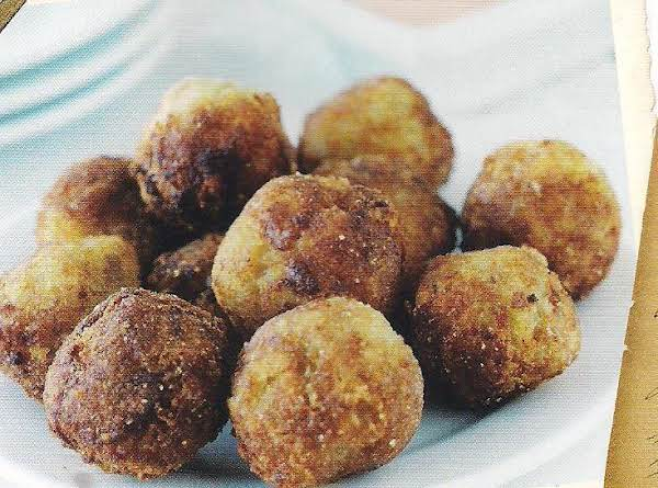 Helen's Fried Cheese Balls With Chili Mayonnaise