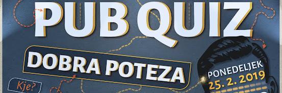 Pub Quiz - 25.2.2019
