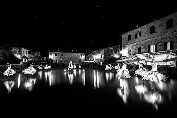Danzando sotto le stelle a Bagno Vignoni di VIC61