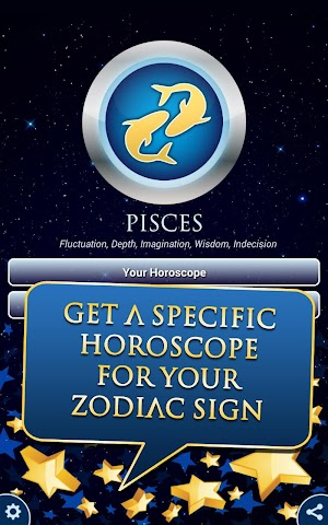 android Pisces Horoscope 2015 HD Screenshot 4