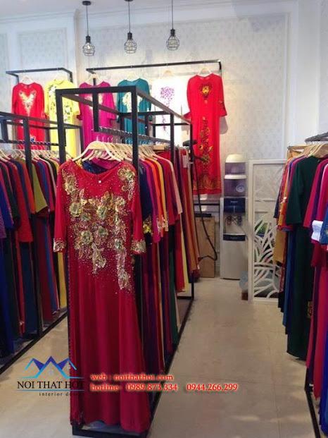 thiết kế thi công shop áo dài đẹp