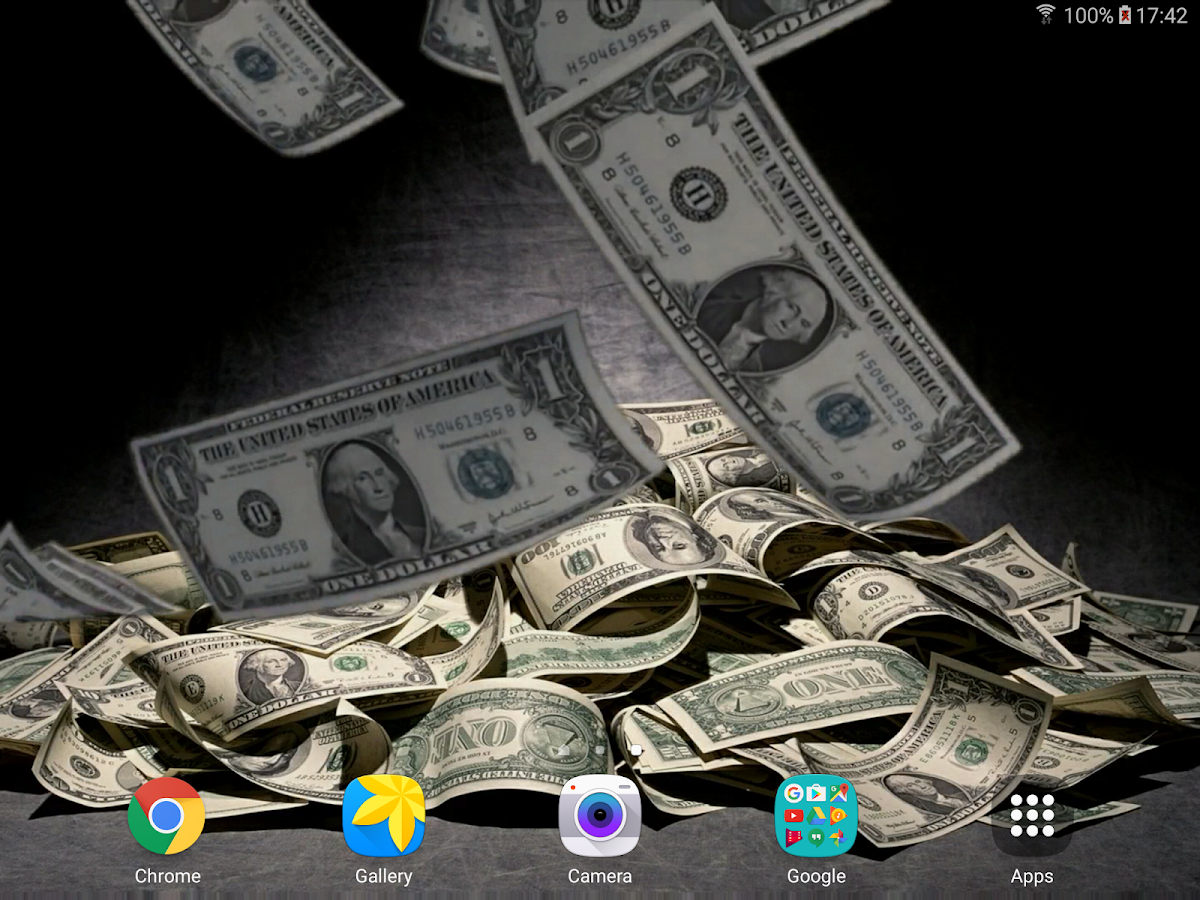 falling money live wallpaper android apps on google play