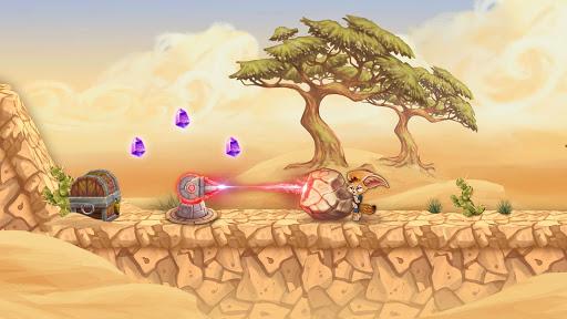 Télécharger Finn & Ancient Mystery: Courez, sautez et avancez apk mod screenshots 6