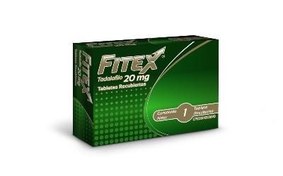 Tadalafilo Fitex 20 mg x 1 Tabletas Producto de Laboratorios Farma. Tratamiento de la disfunción eréctil.