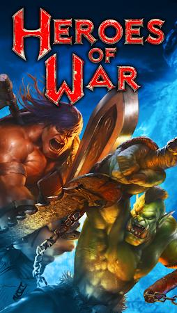 Heroes of War: Orcs vs Knights 1.2.4 screenshot 30490