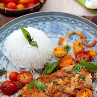 Sauté Pork with Tomatoes.