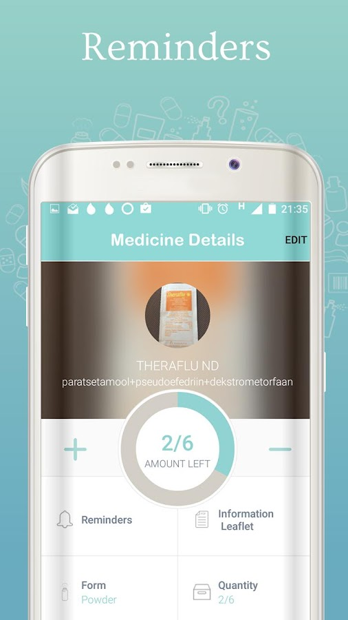 MediKeep - pill reminder- screenshot