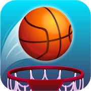 Hot Dunk: Addicting Tap Basketball Hoop Shots Game