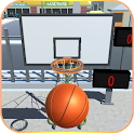 Shooting Hoops basketball game icon