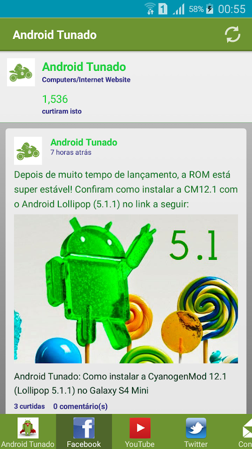AT - Android Tunado- screenshot