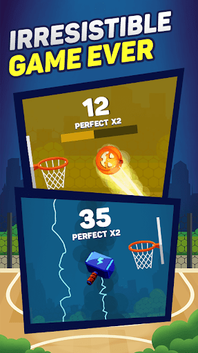 Slam Dunk - Basketball game 2019  captures d'écran 2