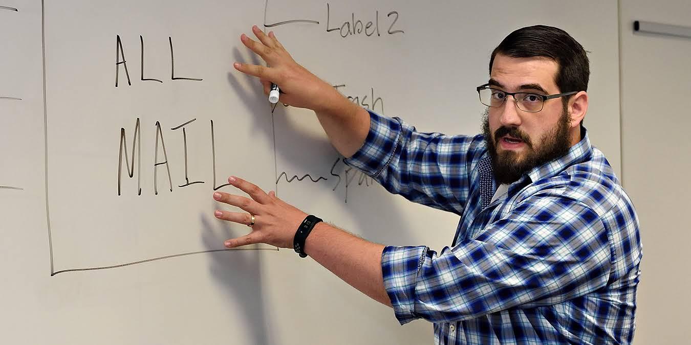 Jordan Lott, Manager of IT Training, Pepperdine University