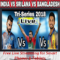 Live India vs Bangladesh 2018 streaming icon