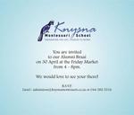 Alumni Braai : Knysna Montessori School