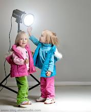 Photo: Children of photographer  Hey, papa is coming! :-))