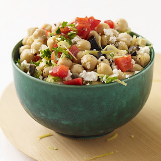 Chickpea and Feta Salad.