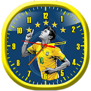 Brazil Football Wallpaper Clock Live