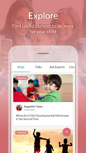 Screenshot for Pregnancy Advice, Parenting Tips & Baby Care App in United States Play Store