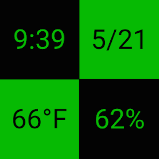 Grid Watchface