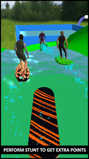 Water Slide Skateboard Race & Stunts : Water Skate 1.0 screenshots 2