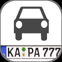 KFZ Kennzeichen D/A/CH/I/PL/F icon