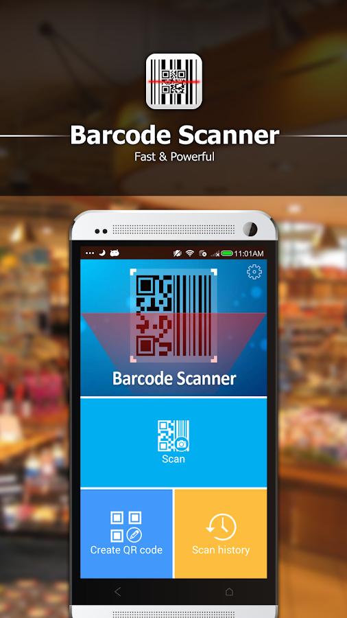 qr code scan barcode scanner android apps on google play. Black Bedroom Furniture Sets. Home Design Ideas