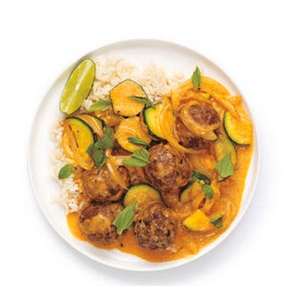 Red Curry Meatballs Recipe