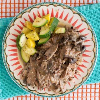 Easy Beef Stroganoff Crock Pot.