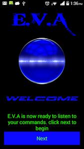 E.V.A  -Assistant screenshot 0