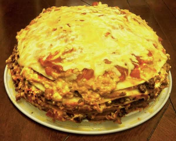 Chilli Cheese Tortilla Stack Recipe