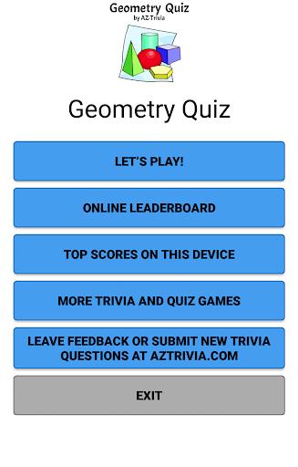 Geometry Quiz 1.0 screenshots 2