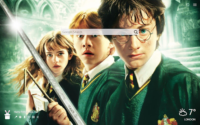 Harry Potter New Tab, Wallpapers HD