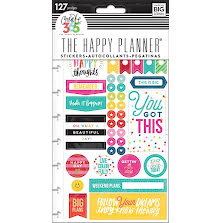 Me & My Big Ideas Create 365 Planner Stickers - Happy Brights