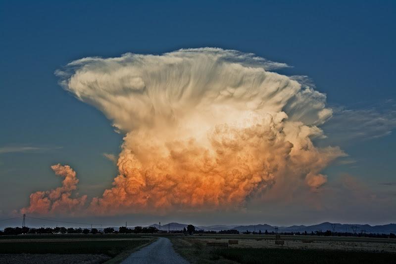 Solo le nuvole sanno disegnare il cielo...  di vaiolet