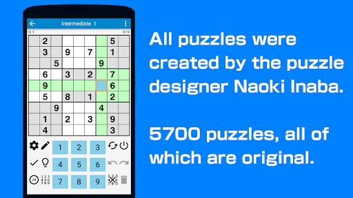 Sudoku - 5700 puzzles Free filehippodl screenshot 1