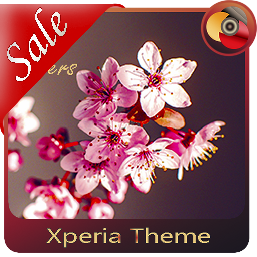 Spring flowers theme for  Xperia™