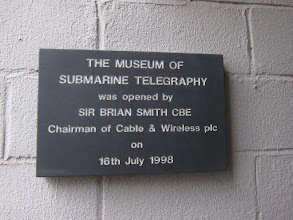 Photo: Today we visit Porthcurno's Telegraphy Museum.