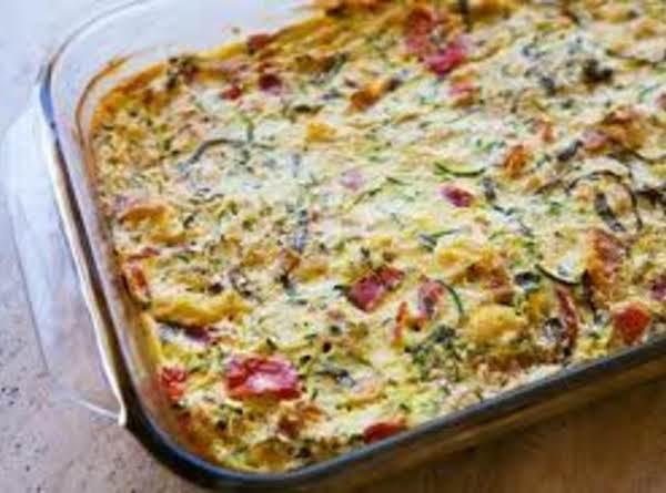 Zucchini & Cheese Casserole Recipe