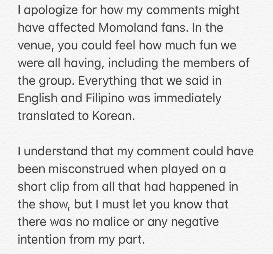 momoland tim yap apology 1